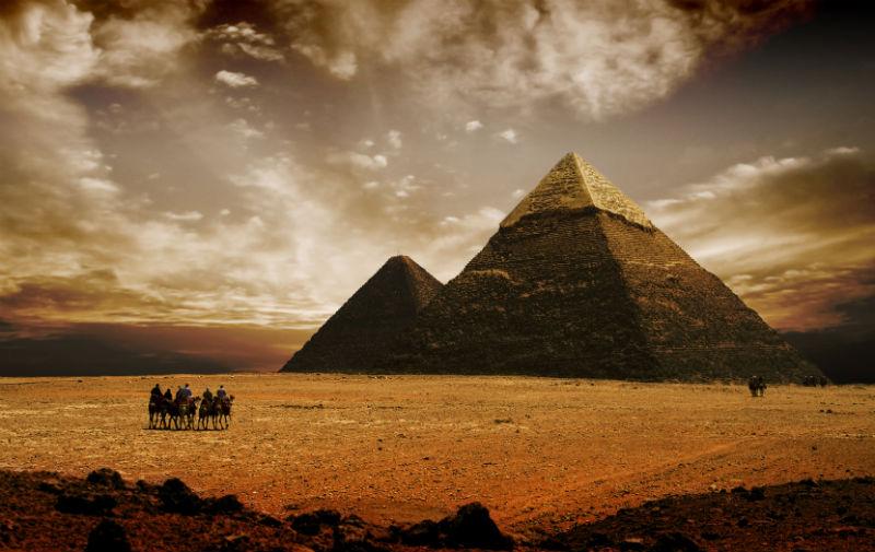 Pyramiden in Ägypten