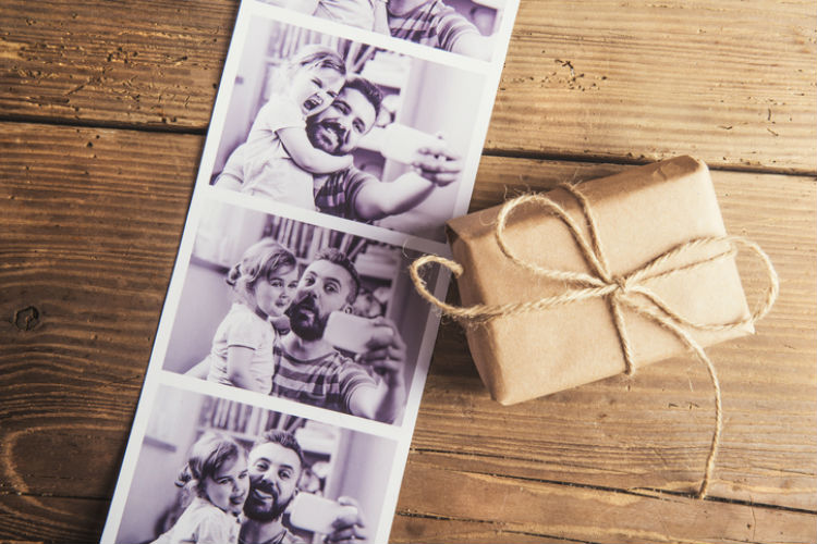 Fotos als Geschenkidee zum Vatertag