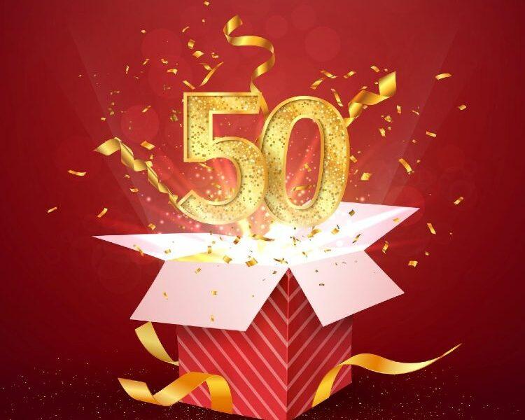 50 spring aus einer Box