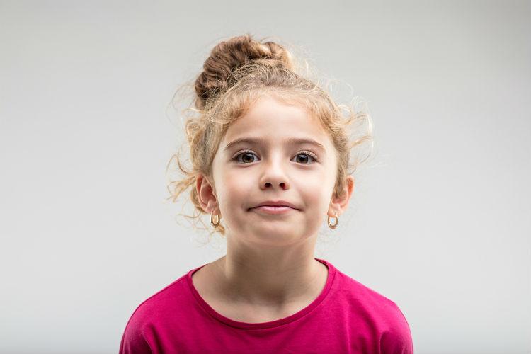 Mädchen mit Ohrringe