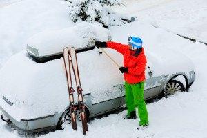 Auto im Skiurlaub