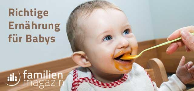 Richtige Babynahrung Gefahr