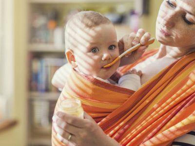 Babytragetuch Bindeanleitung So funktioniert es