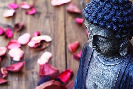 Buddhismus zählt zu den friedlichsten Religionen der Welt
