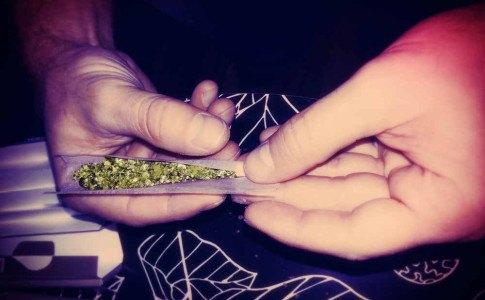 Cannabis Zigarette