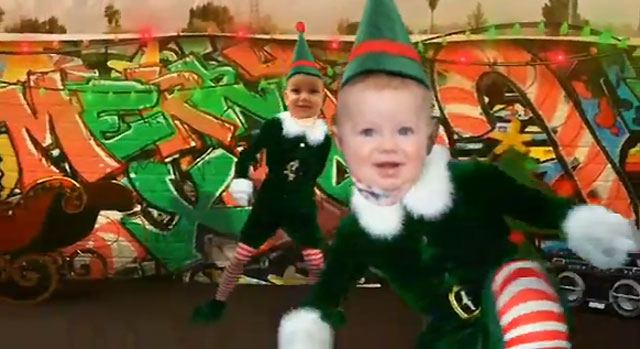 Elf Yourself Babyvideo