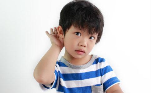 Kind mit Hörproblemen