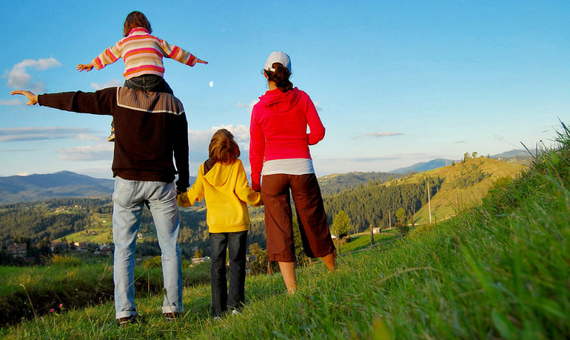 Familienurlaub mal anders