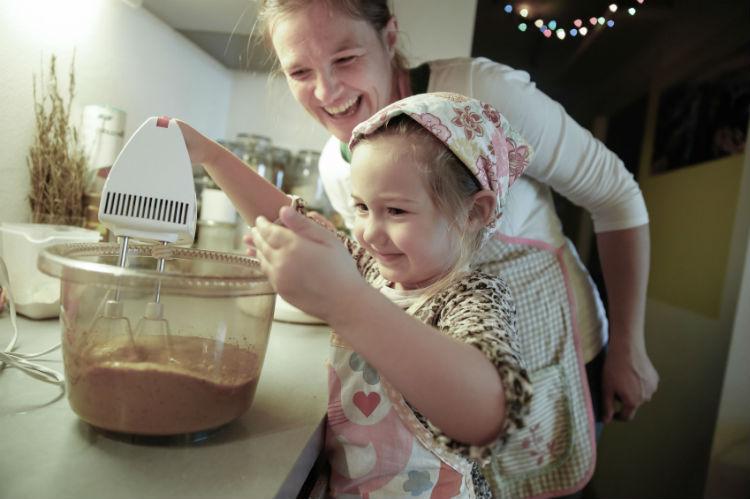 Kochen mit Kind