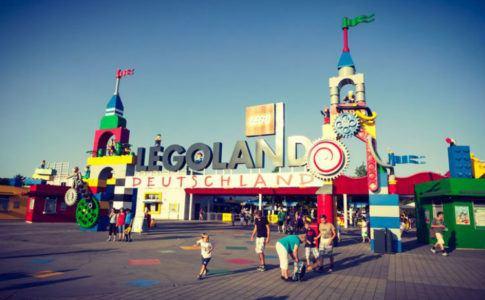 Freizeitpark Legoland für Kinder