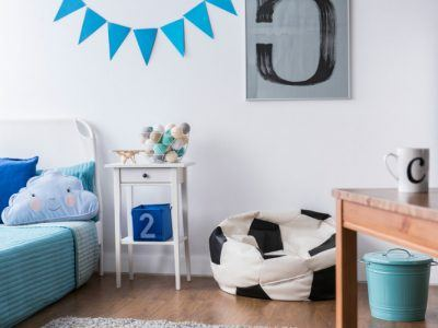 Fuballfans aufgepasst Fuballmbel und Dekoration fr das Kinderzimmer