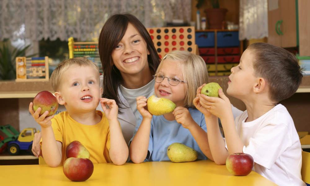 Kinderseite Gesunde Ernährung