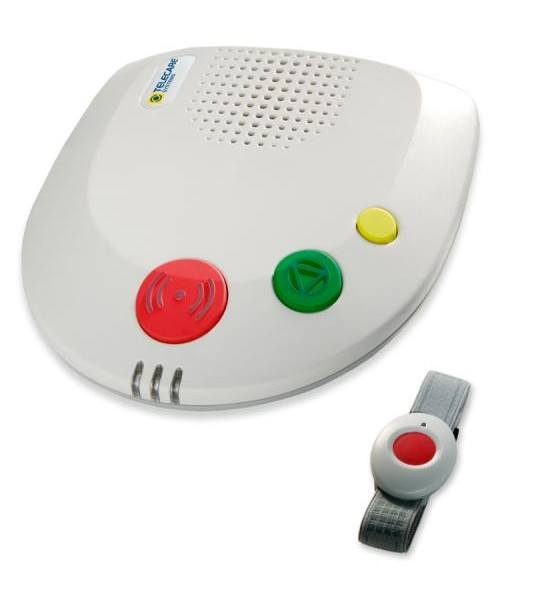 Hausnotrufsystem: Basisstation mit Funkfinger