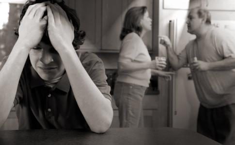 Alkoholkrankheit als Belastung für Kinder