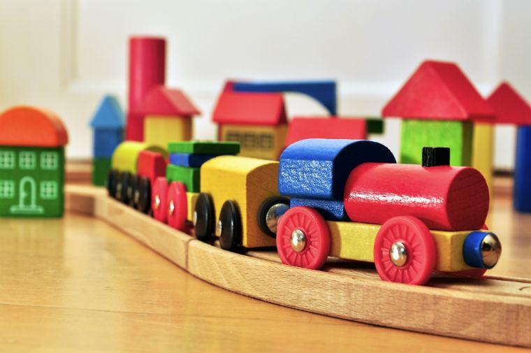 Holzspielzeug Zug