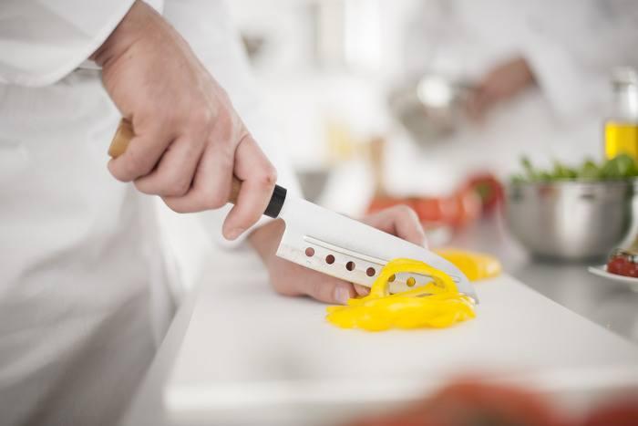 Messer damast Keramik