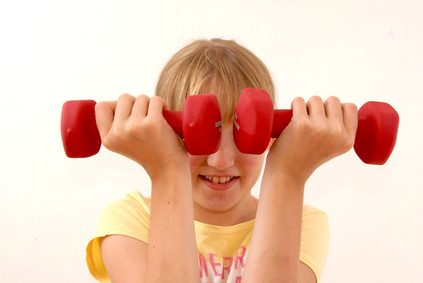 Kindergesundheit - Sollen Kinder ins Fitnessstudio?