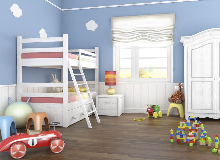 Kinderzimmer Mit Etagenbett : Kinderzimmer etagenbett massiv kiefer stockbett hochbett