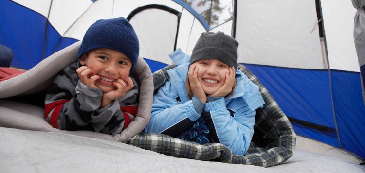 Kinder camping