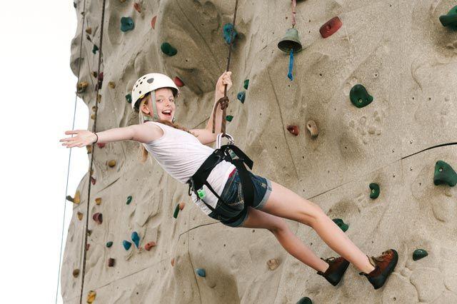 Kindergeburtstag Kletterwand