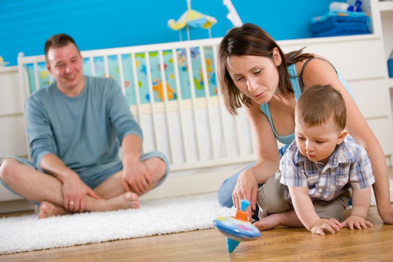 Wohnung für Kinder ausstatten