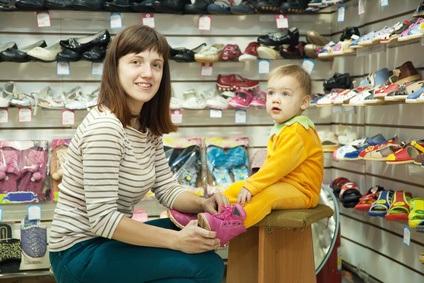 Besonders für Babys sind die richtigen Schuhe unabdingbar wichtig