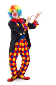 Witziges Clown Kostüm