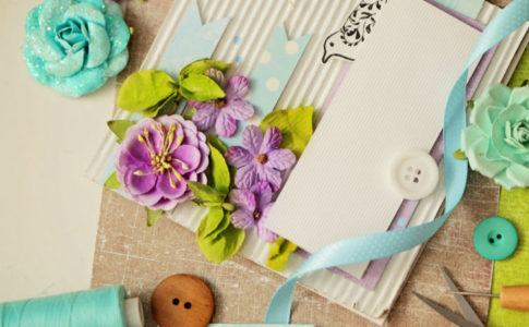dekorative Einladungskarten