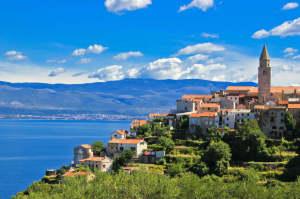 Insel Krk in Kroatien