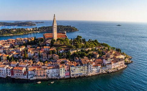 Luftaufnahme von Kroatien