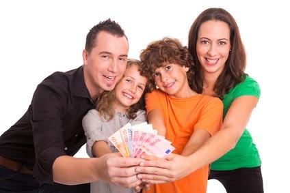 Wenn sich das Familienglück nach dem Lottogewinn wendet, muss geteilt werden