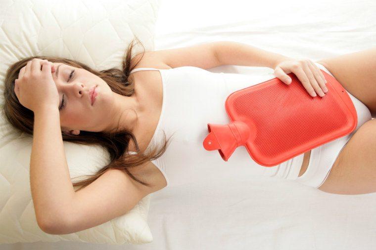 Menstruations-Beschwerden