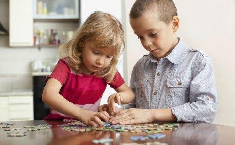 Montessori Kleinkinder