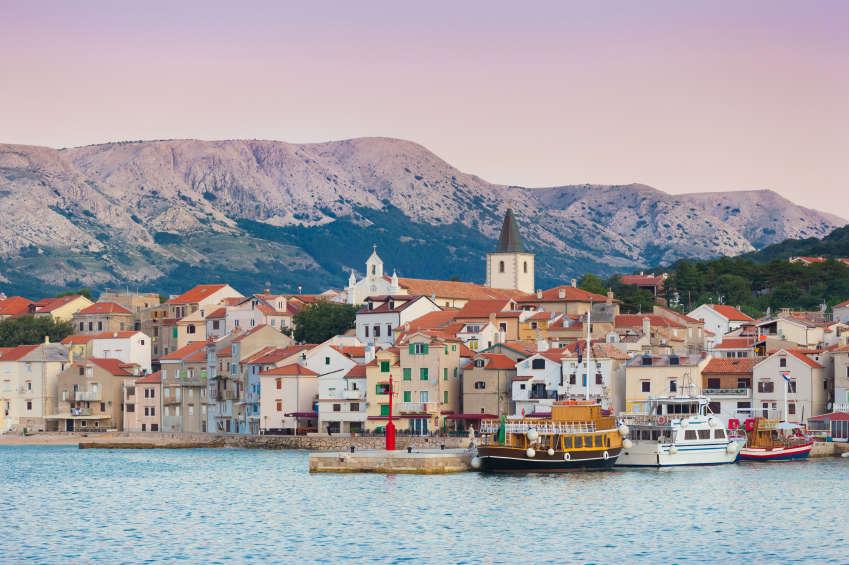Pension Krk in Kroatien