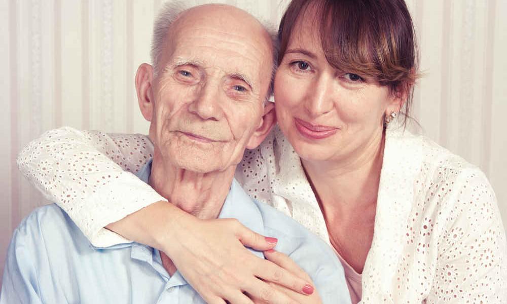 Pflegebedürftiger mann
