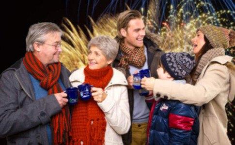 Jahreswechsel mit der ganzen Familie