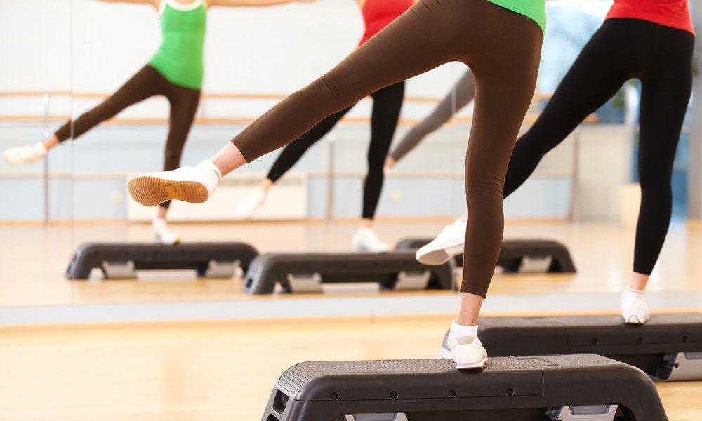 Step Aerobic in der Schwangerschaft