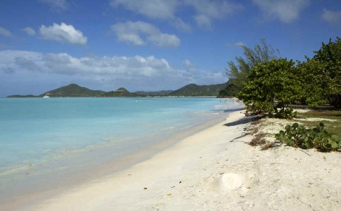 Traumstrand auf Antigua