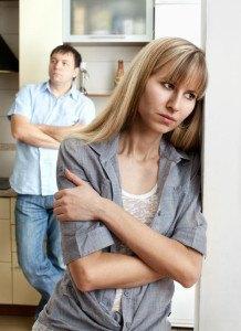 Andauernder Streit belastet die Ehe