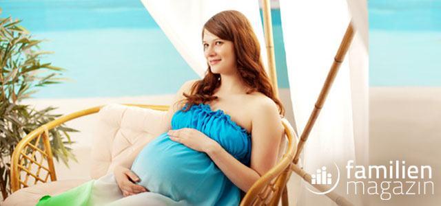 Schwangerschaft im Urlaub Stress