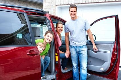 Ein Van eignet sich vor allem für Großfamilien