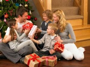 Weihnachtsfest mit der Familie