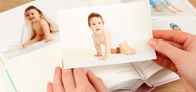 Fotoalbum Baby