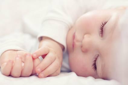 Babys schlafen am sichersten in einem Babyschlafsack