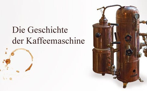 Erste Kaffeemaschine