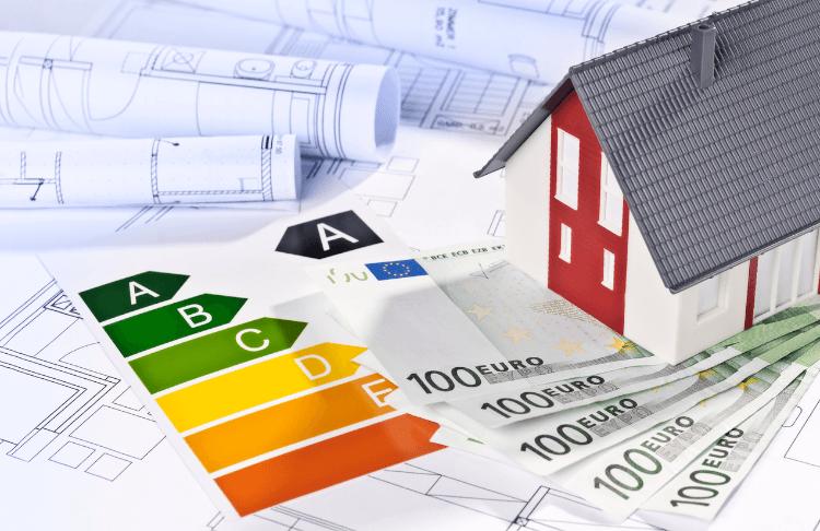 Baupläne für ein Haus mit sehr gutem Energieausweis