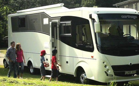 Familienurlaub mit dem Wohnmobil