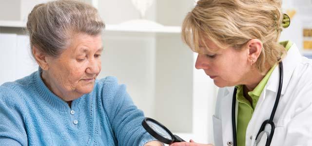 Hautkrankheiten Senioren