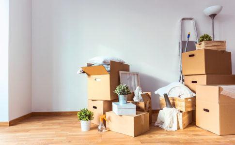 Umzug ins neue Eigenheim