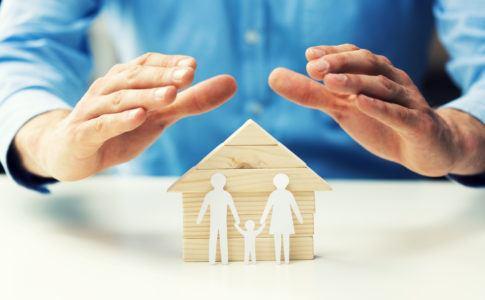 Symbolische Darstellung einer Lebensversicherung